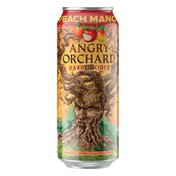 Angry Orchard Beer, Hard Fruit Cider, Peach Mango