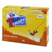 CLIF BAR Kid Z Bar Organic Peanut Butter Crispy Rice Bar - 6 CT