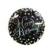 "Amscan 7"" Sparkling Celebration Happy Birthday Paper Plates"