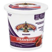 Land O Lakes Yogurt, Lowfat, Blended, Strawberry