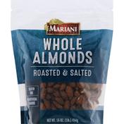 Mariani Almonds, Roasted & Salted, Whole