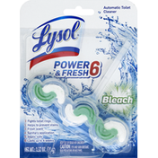 Lysol Toilet Cleaner, Automatic, Bleach