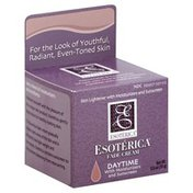 Esoterica Fade Cream, with Moisturizers and Sunscreen, Daytime