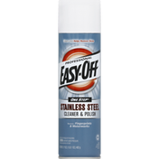 EASY-OFF Stainless Steel Cleaner & Polish, One Step