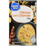 Great Value Soup, Chicken Corn Chowder