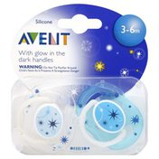 Avent Pacifier, Silicone, 3 - 6 cm