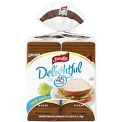 Sara Lee 45 Calorie White Bread Twin Pack