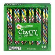 SB Cherry Candy Canes - 12 CT