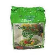 Paldo Green Tea Chlorella Noodles