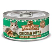 Merrick Purrfect Bistro Grain Free Chicken Divan Morsels in Gravy All life Stages Cat Food