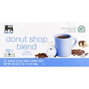 Food Lion Coffee, Medium, Donut Shop Blend, Single Serve Cups
