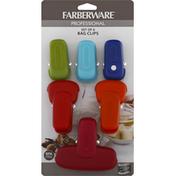Farberware Bag Clips, Set of 6
