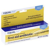 Equaline First Aid Antibiotic + Pain Relief, Maximum Strength Ointment