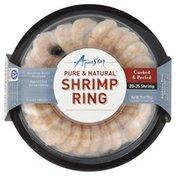 Aqua Star Shrimp Ring, Cooked & Peeled