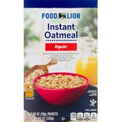 Food Lion Oatmeal, Instant, Regular