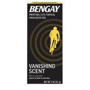 BENGAY Vanishing Scent Gel