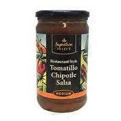 Signature Kitchens Tomatillo Chipotle Salsa Restaurant Style