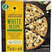 California Pizza Kitchen White Recipe Crispy Thin Crust Frozen Pizza