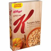 Kellogg's Special K Breakfast Cereal, 11 Vitamins and Minerals, Anytime Snacks, Pumpkin Spice