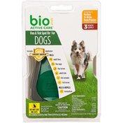 Bio Spot Active Care Flea & Tick Medium Dog Spot On Applicator
