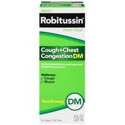 Robitussin Adult DM Liquid Cough Suppressant/Expectorant