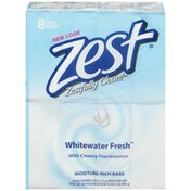 Zest Whitewater Fresh Moisture-Rich Bar Soap