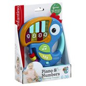 Infantino Learning Toucan, Piano & Number, 6-36 Months+