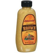 Schnucks Spicy Brown 100% Natural Mustard