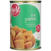 Big Y Cut Yams Sweet Potatoes In Light Syrup