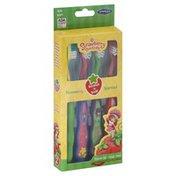 Smileguard Toothbrush, Soft 020, Strawberry Shortcake, Strawberry Scented