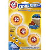 Arm & Hammer Odor Busterz, Clean Burst Fresh Scent, 3 Pack