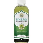 GTS Living Foods Enlightened Organic Raw Kombucha, Multi-Green