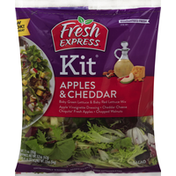 Fresh Express Salad, Apples & Cheddar, Kit