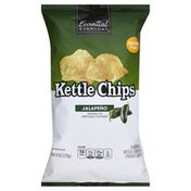Essential Everyday Kettle Chips, Jalapeno