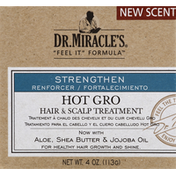 Dr. Miracle's Hair & Scalp Treatment, Hot Gro, Strengthen