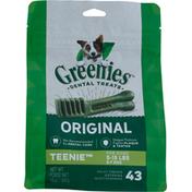 GREENIES Dental Treats, Original, Teenie