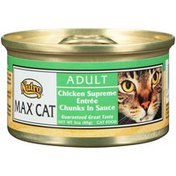 Nutro MAX CAT Adult Chicken Supreme Entree Chunks in Sauce Cat Food