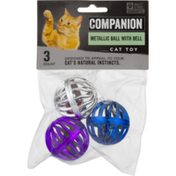Companion Cat Toy Metallic Ball with Bell