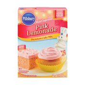 Pillsbury Moist Supreme Pink Lemonade Flavored Premium Cake Mix