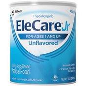 Elecare Hypoallergenic Unflavored Powder EleCare Jr Hypoallergenic Unflavored Toddler Formula Powder
