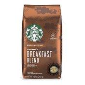 Starbucks Medium Roast Ground Coffee — Breakfast Blend