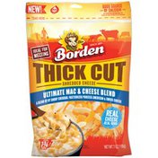Borden Thick Cut Ultimate Mac & Cheese Blend Shredded Cheese