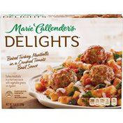 Marie Callender's Baked Turkey Meatballs In Crushed Tomato Basil Sauce