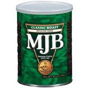 Mjb Classic Roast Regular Grind Coffee