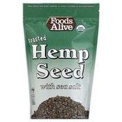 Foods Alive Hemp Seed, Toasted, with Sea Salt
