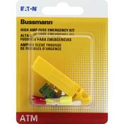 Bussmann Fuse, Emergency Kit, ATM, High Amp