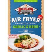 Louisiana Fish Fry Products Seasoned Coating Mix, Garlic & Herb