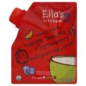 Ella's Kitchen Cereal, Multigrain Baby, Wakey Wakey Mango, Banana + Strawberry, 2 (from 6 Months)