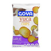 Goya Yuca Cassava Chips, Garlic