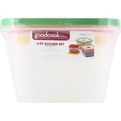 GoodCook Kitchen Set, Food Storage, Flex Trim